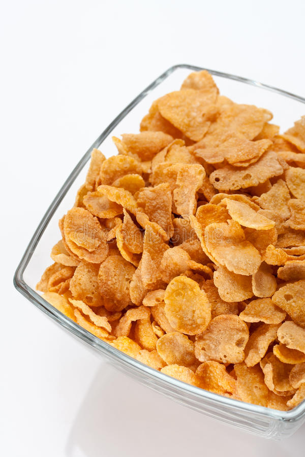 Download Bowl of cornflakes stock photo. Image of delicious, healthy - 22895418
