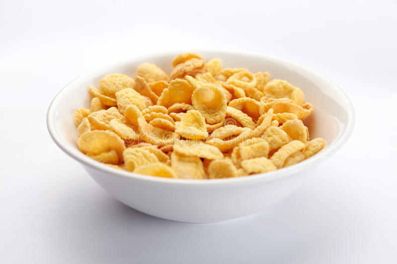 Download Bowl of cornflakes stock photo. Image of food, meal, high - 25947218