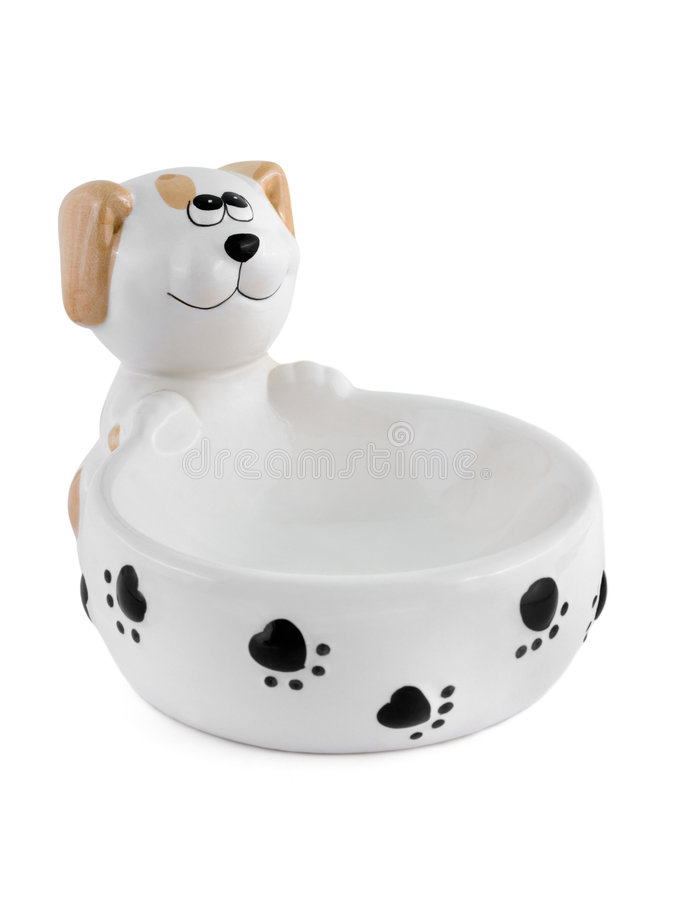 Download Bowl for dog stock image. Image of puppy, background, bowl - 5993335