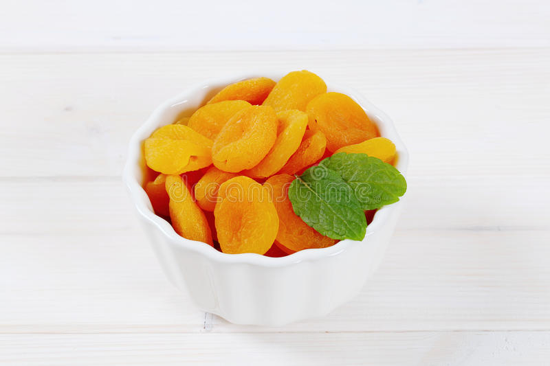 Download Bowl of dried apricots stock image. Image of ripe, orange - 83709951