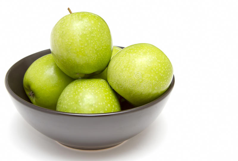Download Bowl Of Granny Smith Apples Stock Photo - Image: 24508700