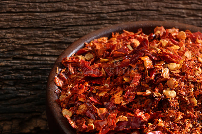 Download Bowl with ground chili stock image. Image of recipe, dryed - 27792933