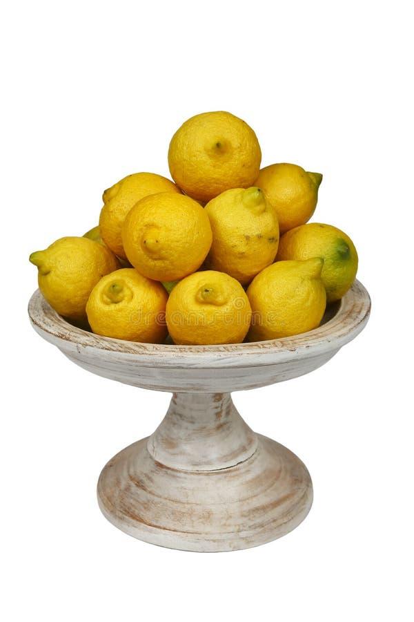 Bowl of lemons stock photo. Image of photography, food ...