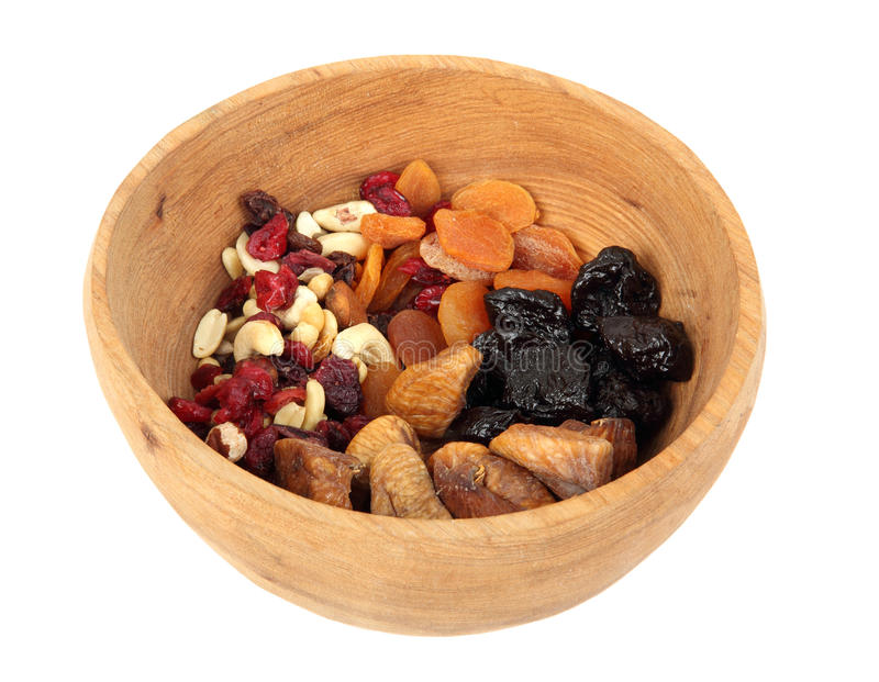 Download Bowl of mixed dried fruits stock image. Image of fruity - 23526453