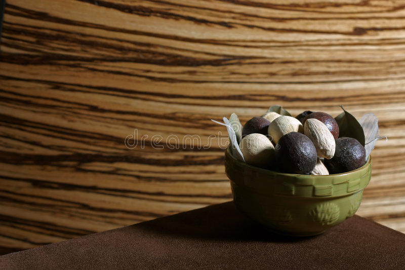 Bowl O' Nuts royalty free stock images