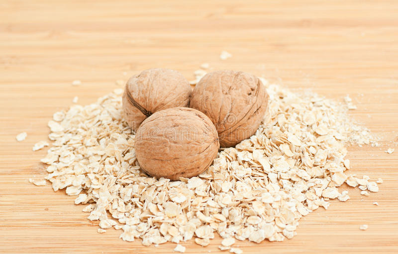 Download Bowl Of Oatmeal stock photo. Image of natural, nutrition - 19194928