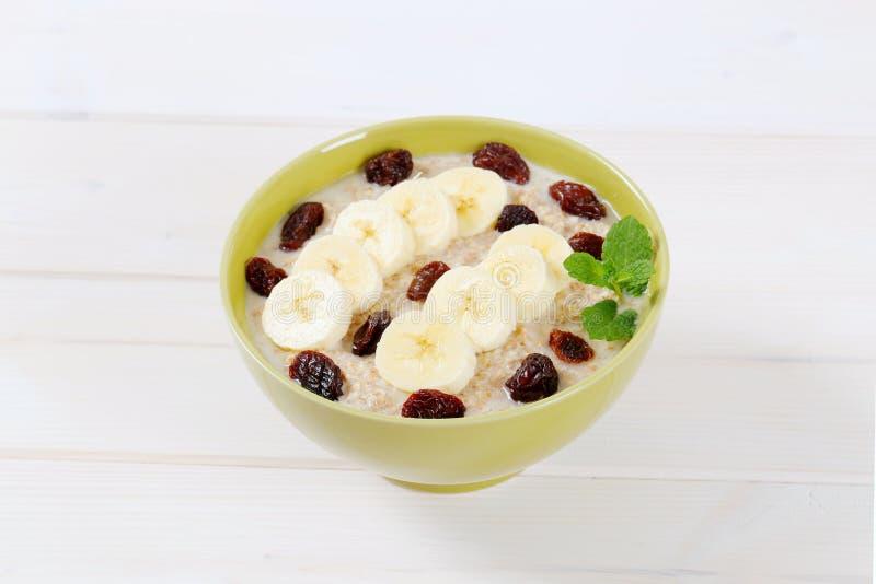 Download Bowl Of Oatmeal Porridge Stock Photo - Image: 83705573