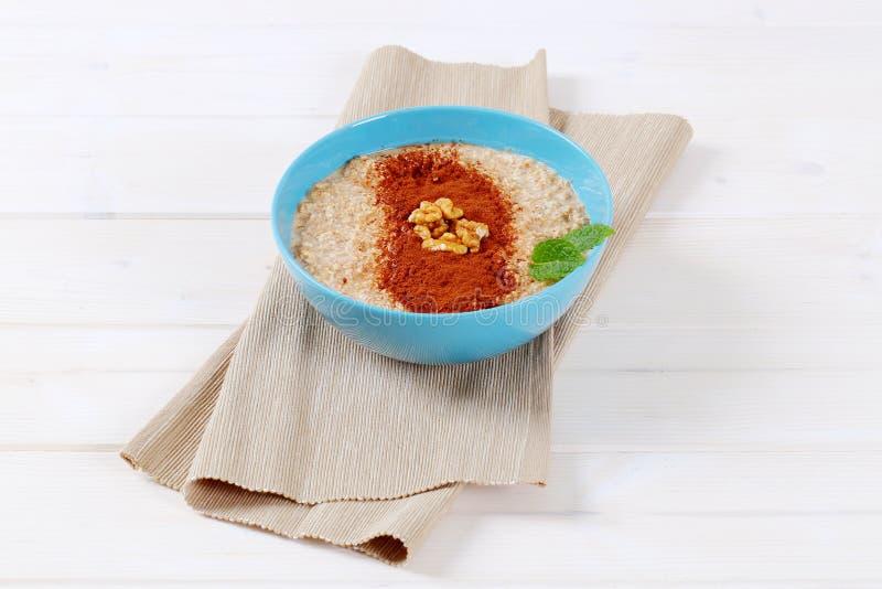 Download Bowl Of Oatmeal Porridge Stock Photo - Image: 83707100