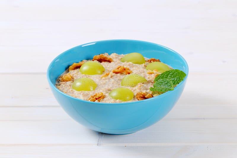 Download Bowl Of Oatmeal Porridge Stock Photo - Image: 83705838