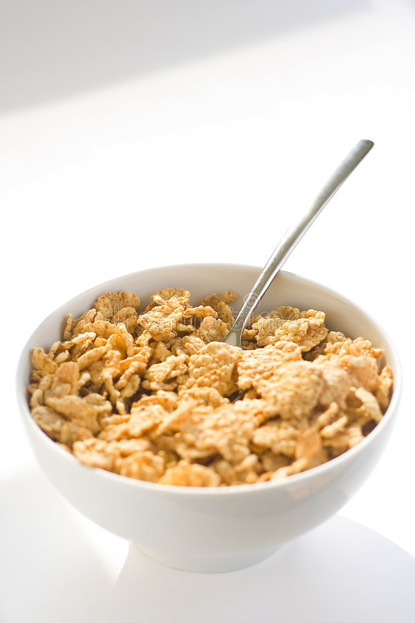 Free Bowl Of Cereal With Raisins Stock Photo - 7748290