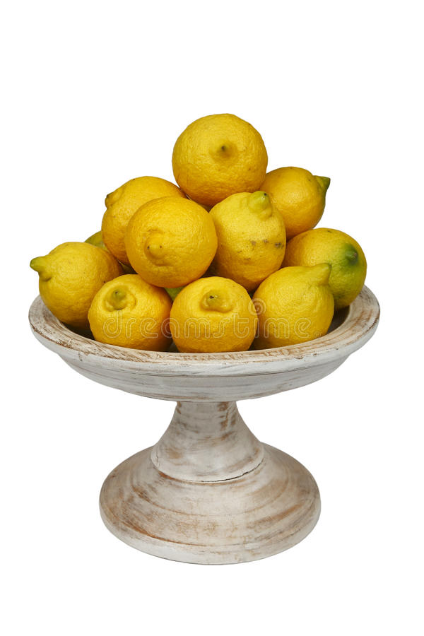 Free Bowl Of Lemons Stock Images - 20418544