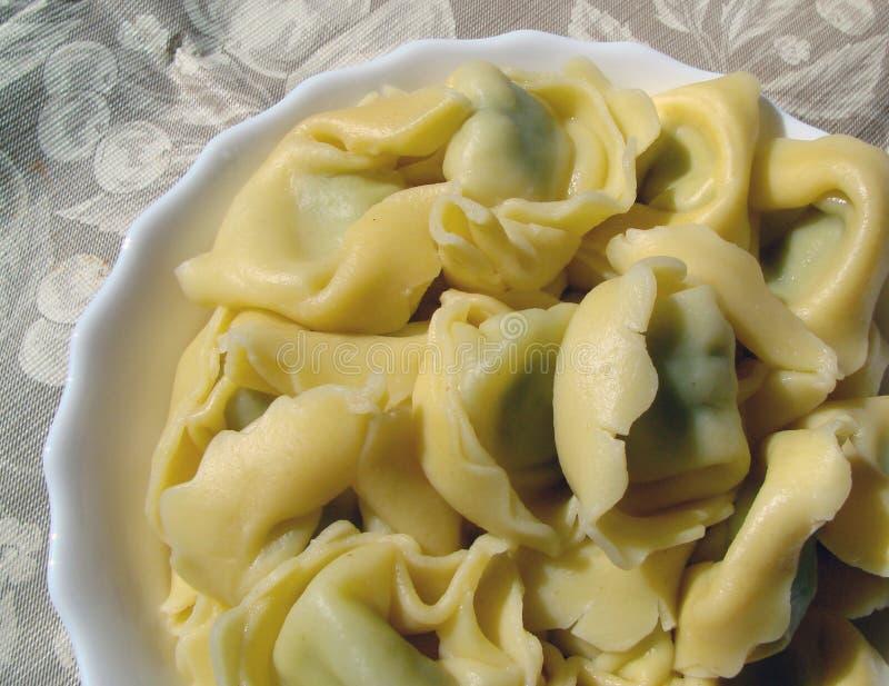 Bowl of pasta stock photos