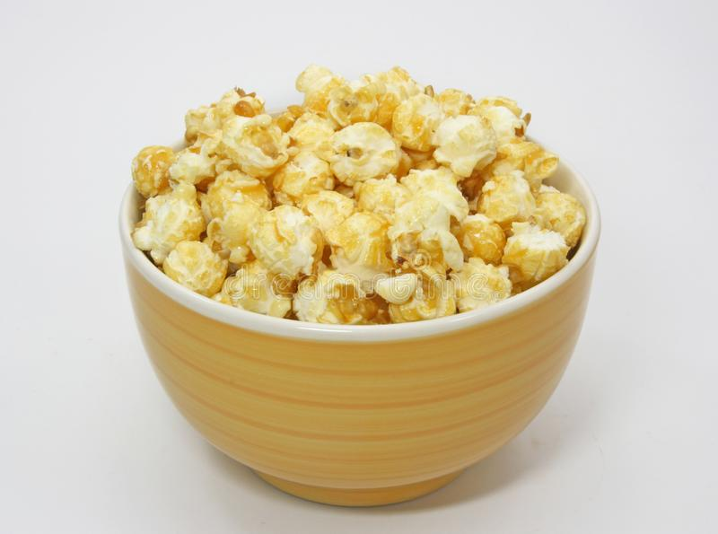 A Bowl Of Popcorn Stock Photography