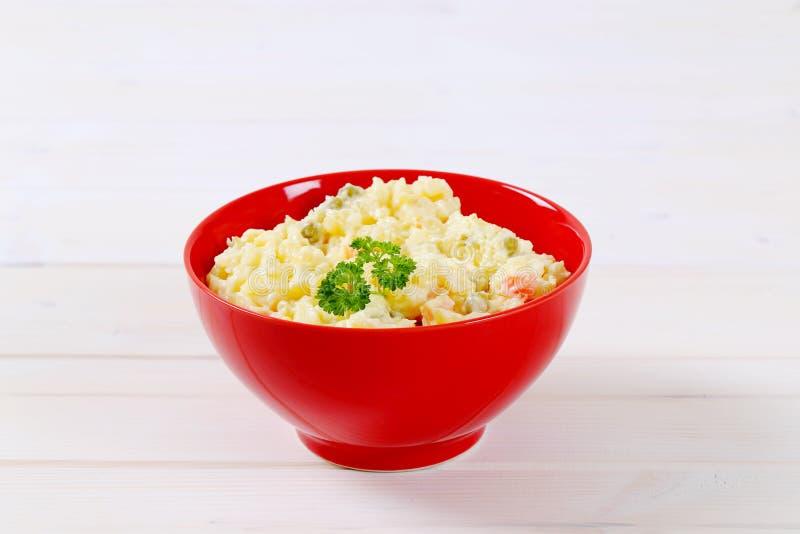 Download Bowl Of Potato Salad Stock Photo - Image: 83707599