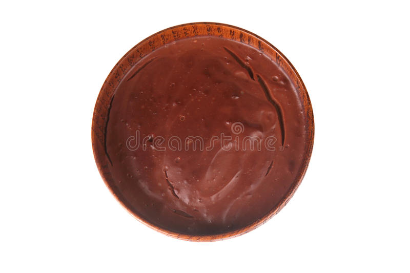 Bowl of Pudding royalty free stock photography