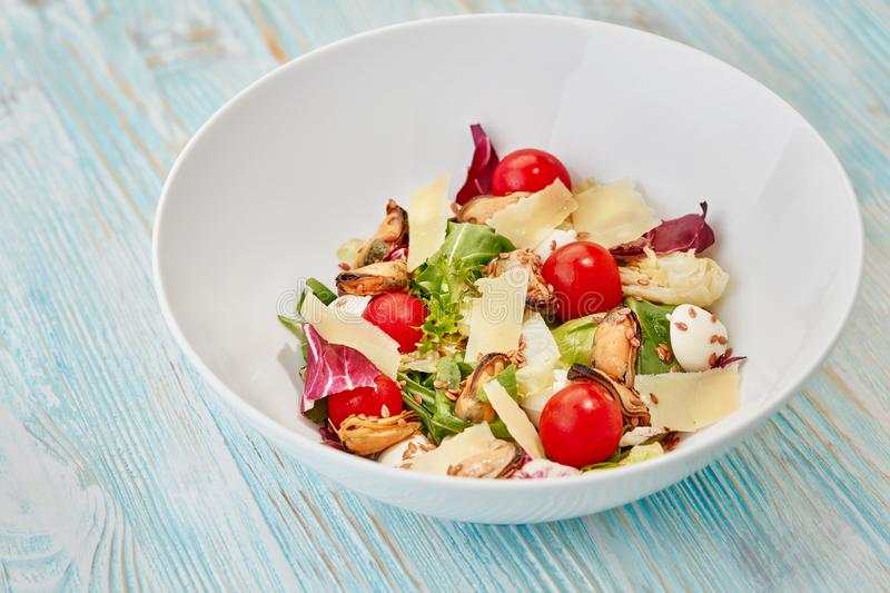 Bowl of salad royalty free stock photography