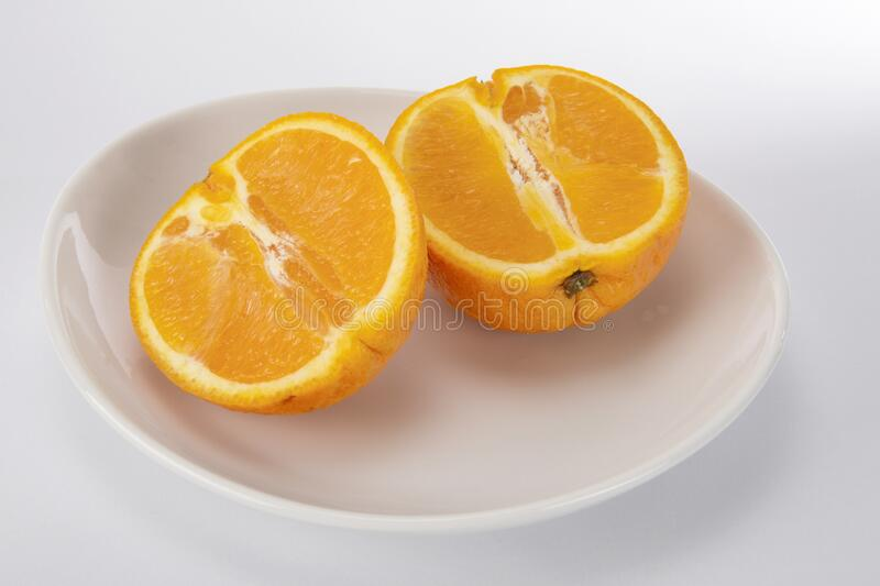Oranges,fruit,sliced royalty free stock photos