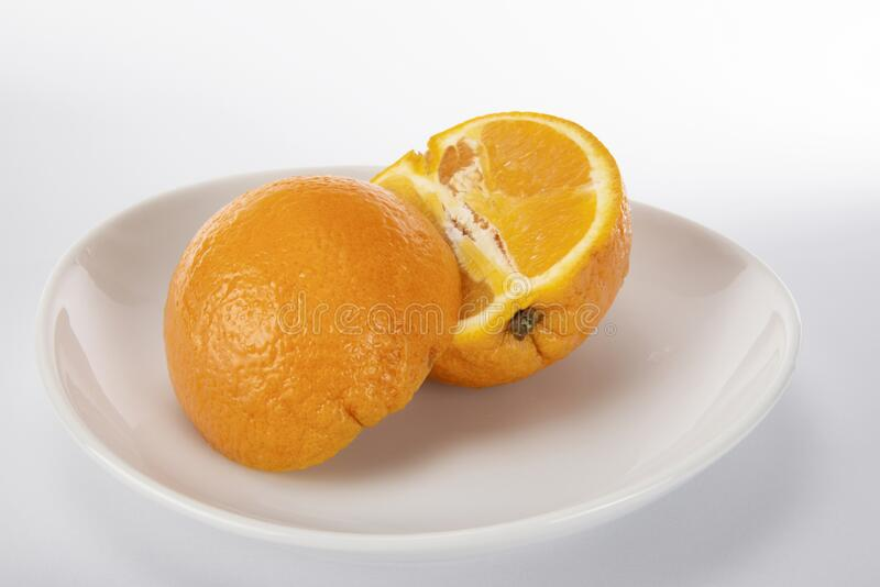 Oranges,fruit,sliced royalty free stock image