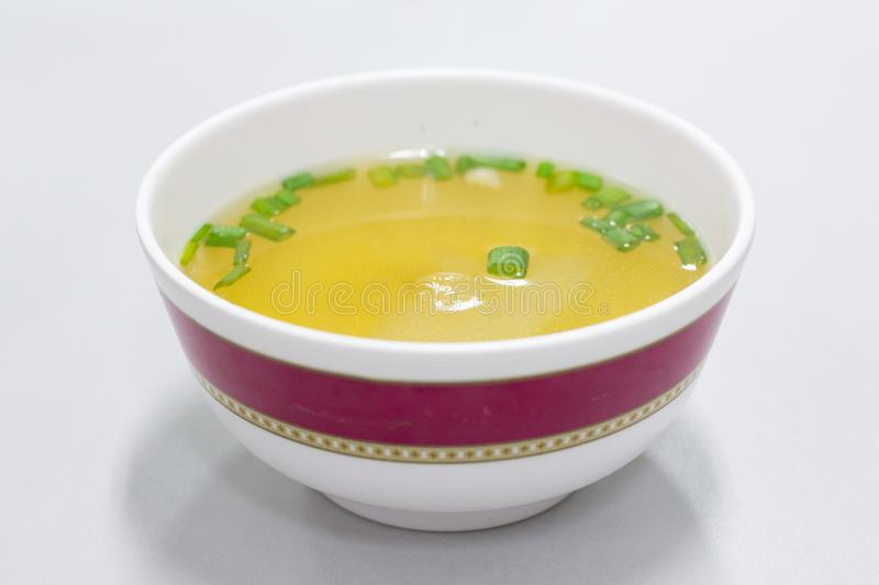 Bowl of soup royalty free stock images