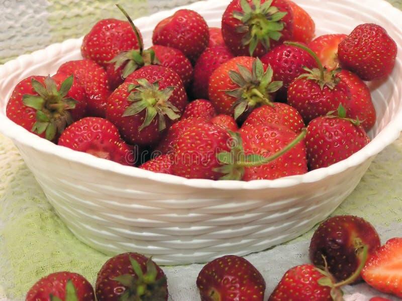 Download Bowl Of Strawberries stock photo. Image of food, bowl, berries - 174266