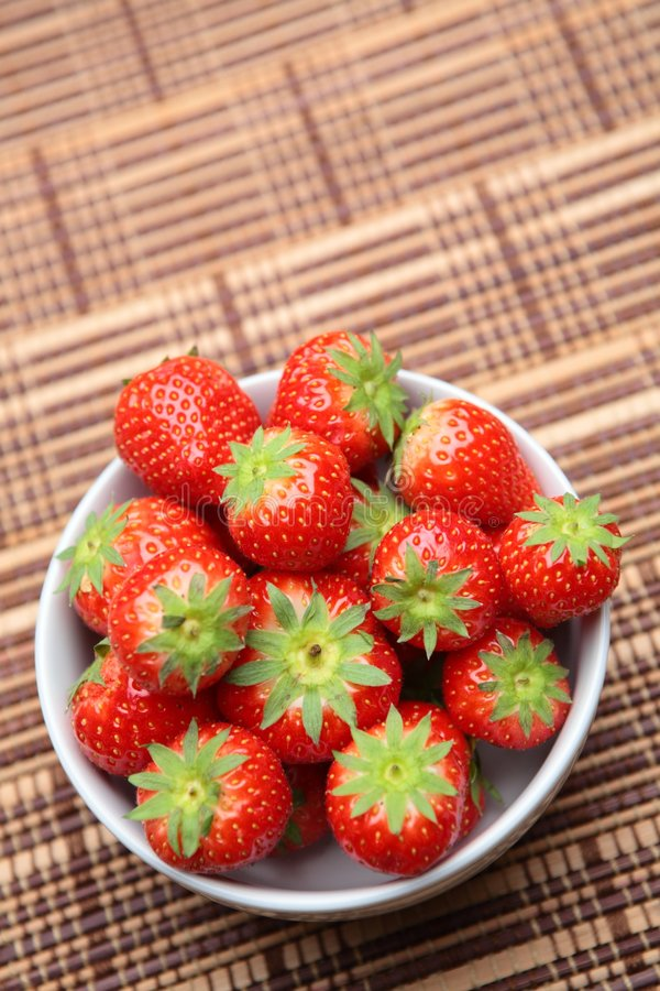 Download A Bowl Of Tasty Strawberries Stock Photo - Image: 7150244