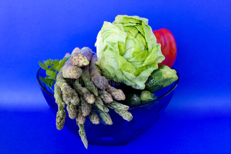 Download Bowl With Vegetables stock photo. Image of eating, lettuce - 13874718
