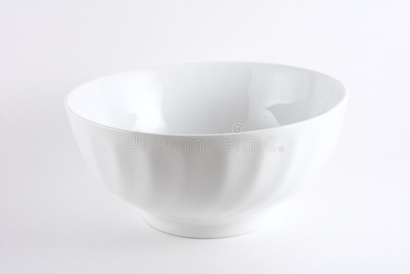bowl white στοκ φωτογραφία