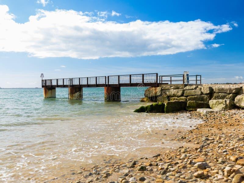 Bowleaze Zatoczka Dorset Anglia zdjęcia royalty free