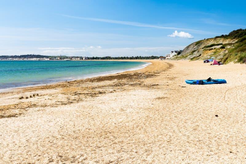Bowleaze Zatoczka Dorset Anglia obrazy royalty free