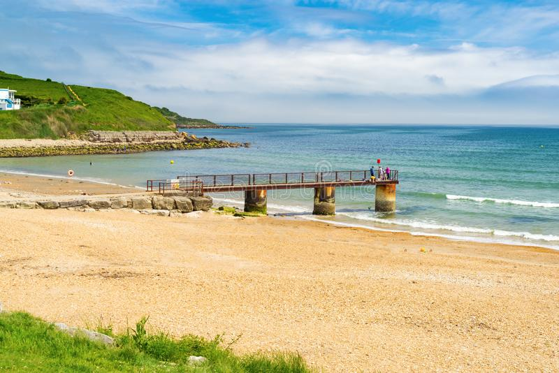 Bowleaze zatoczka Dorset Anglia UK fotografia royalty free