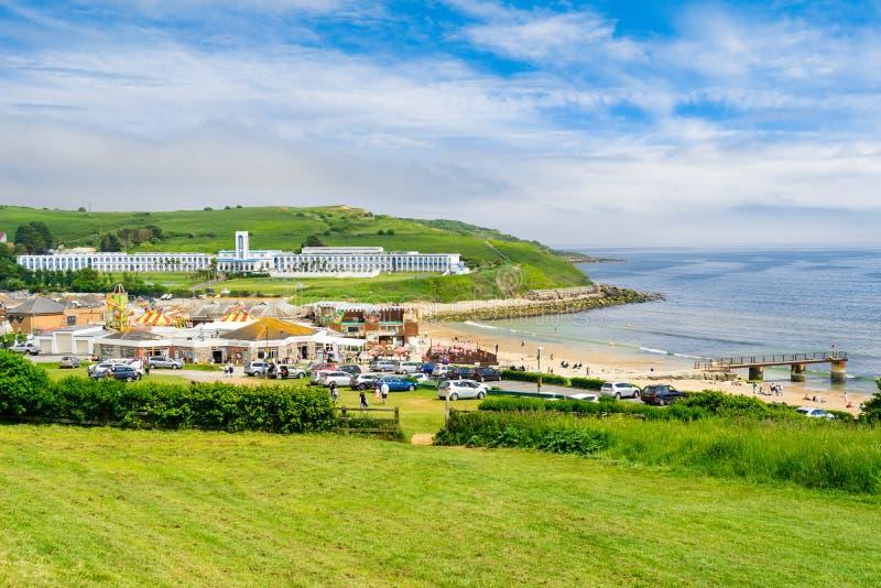 Bowleaze zatoczka Dorset Anglia UK obrazy royalty free