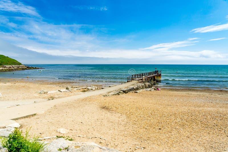 Bowleaze zatoczka Dorset Anglia UK fotografia stock