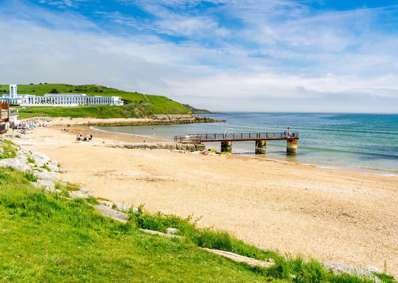 Bowleaze zatoczka Dorset Anglia UK zdjęcie stock