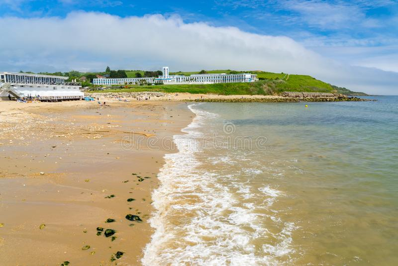 Bowleaze zatoczka Dorset Anglia UK obraz stock