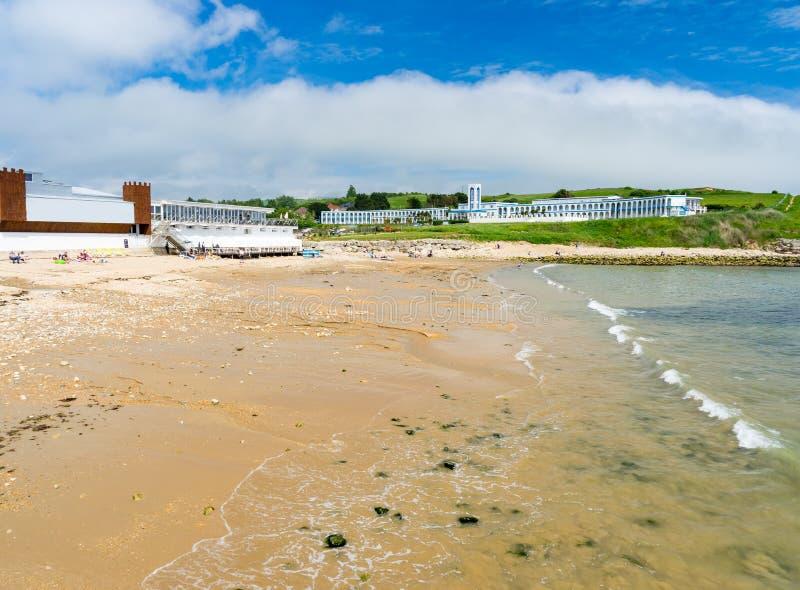 Bowleaze zatoczka Dorset Anglia UK obraz royalty free