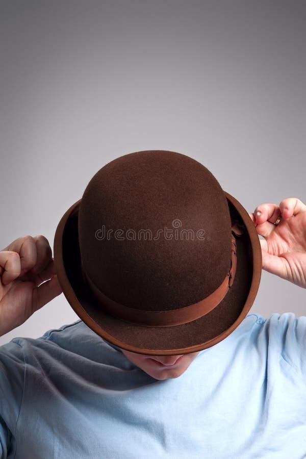 Free Bowler Hat Man Stock Images - 8579264