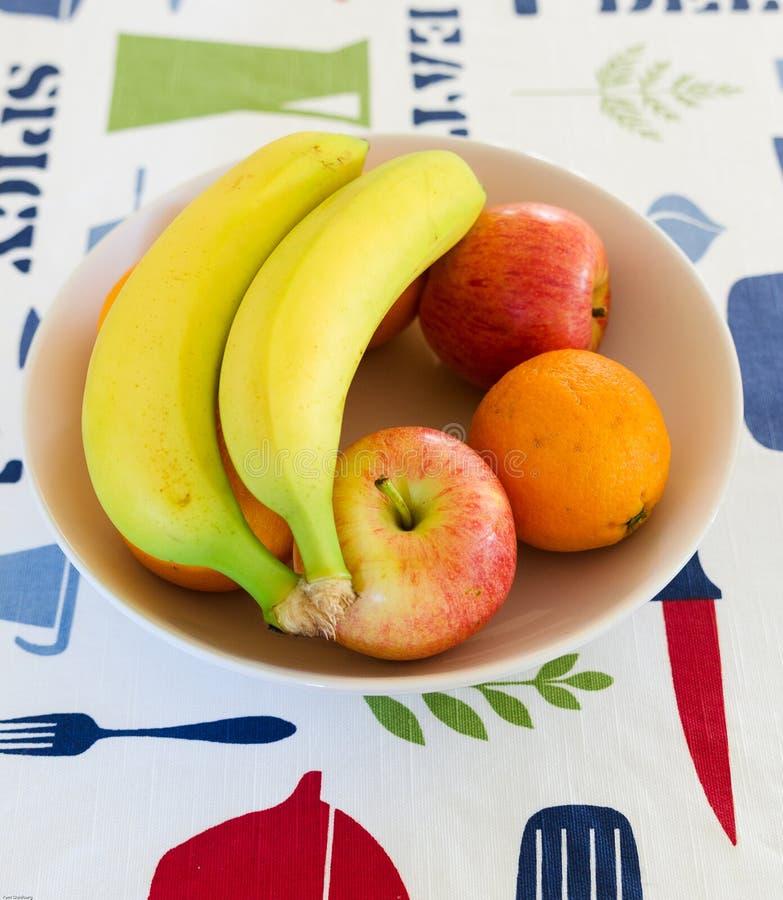 Bowles плодоовощ стоковое изображение