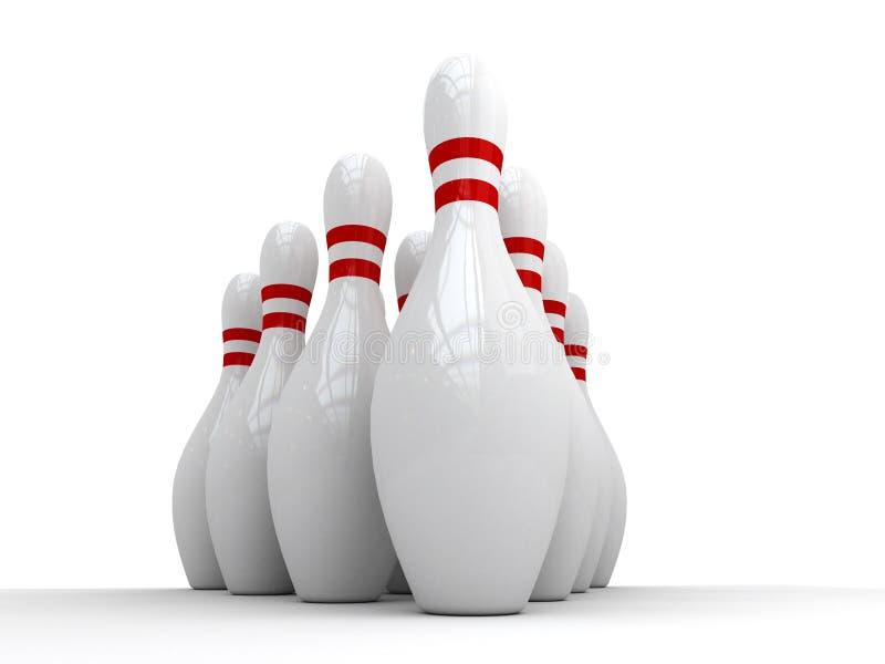 Bowling 02. Bowling targets