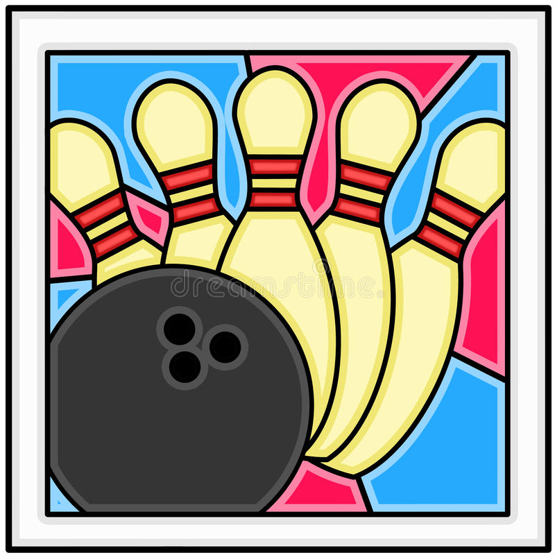 Download Bowling!!! stock illustration. Image of oink, wallpaper - 10894427