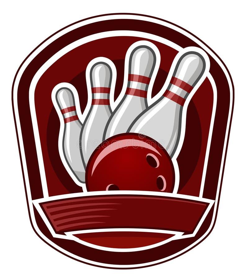 bowling royaltyfri illustrationer