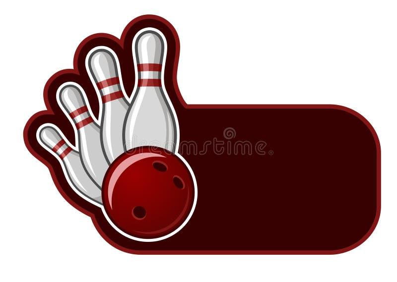 bowling vektor illustrationer