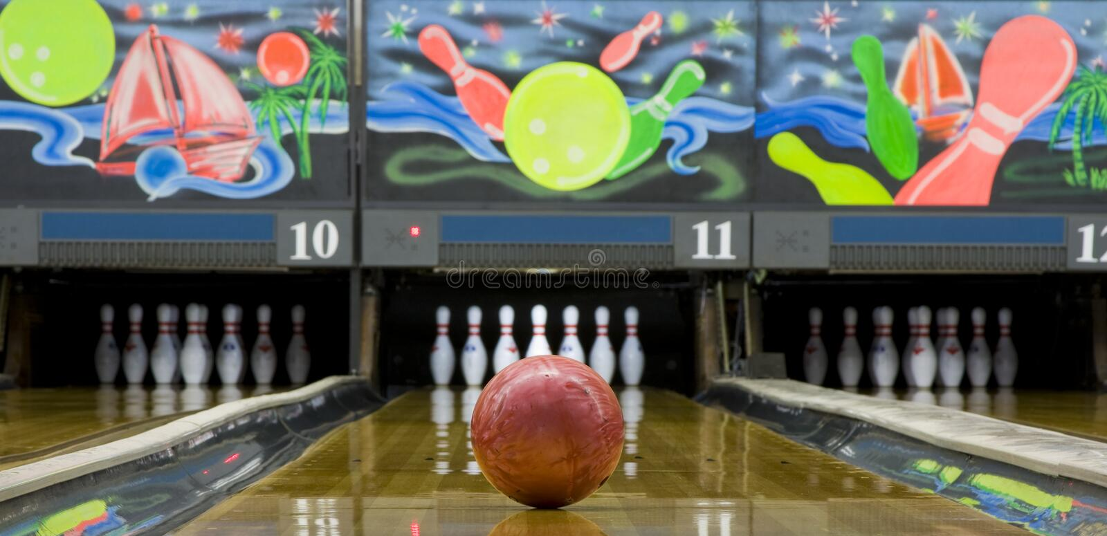 Download Bowling stock image. Image of leisure, sphere, hobbies - 14462679