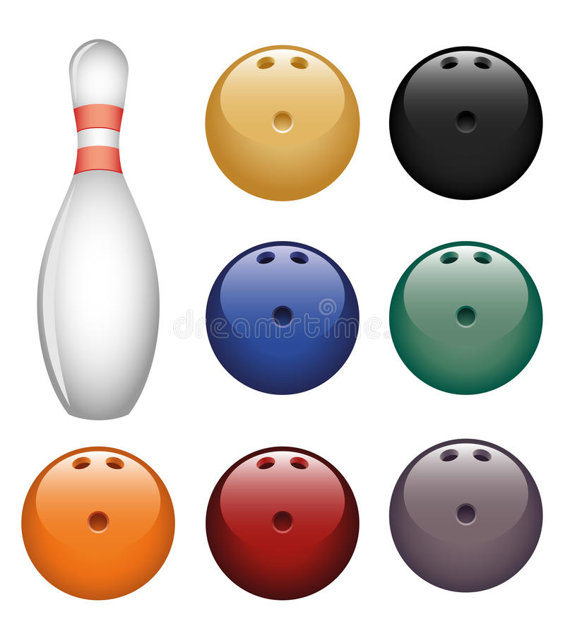 Download Bowling stock vector. Illustration of bowling, design - 14743402