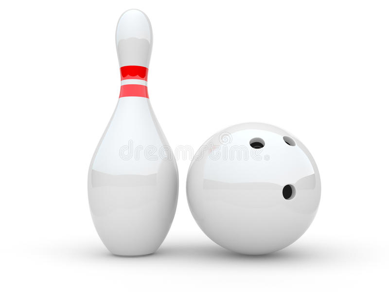 Download Bowling stock illustration. Image of play, hobbies, sphere - 16747657
