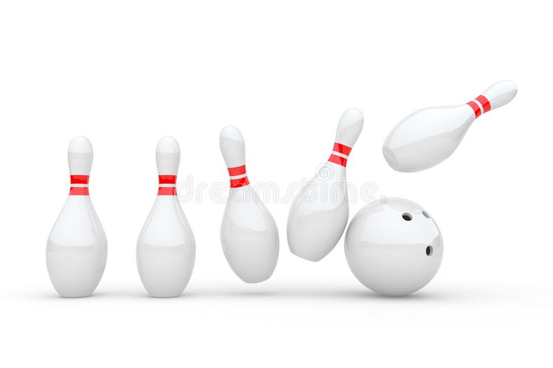 Download Bowling stock illustration. Illustration of game, icon - 16778464