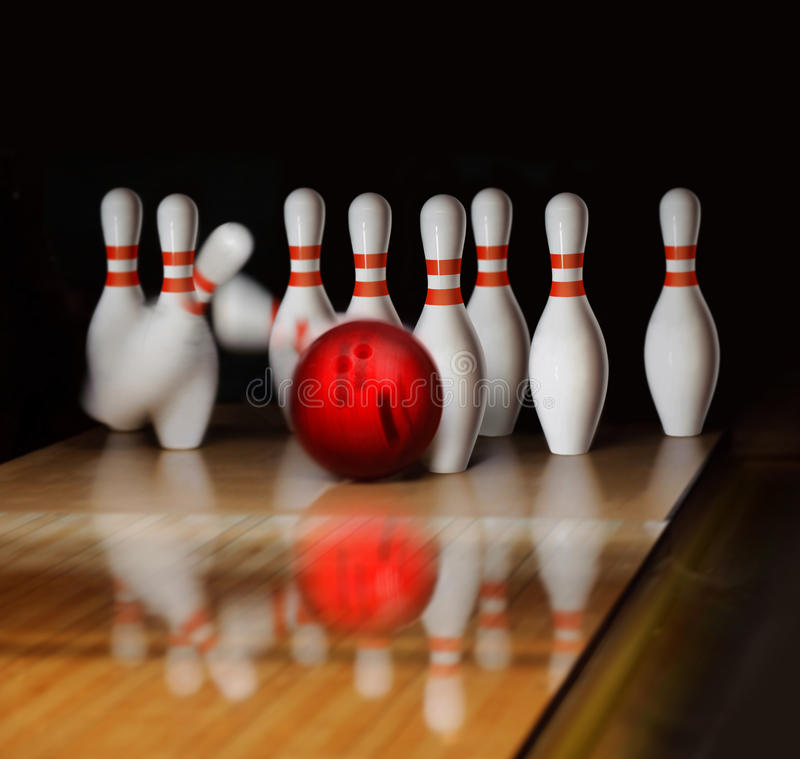 Bowling Royalty Free Stock Image