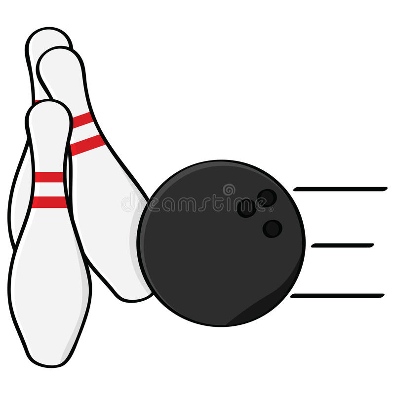 Download Bowling stock vector. Image of retro, fast, cartoon, spare - 20876501