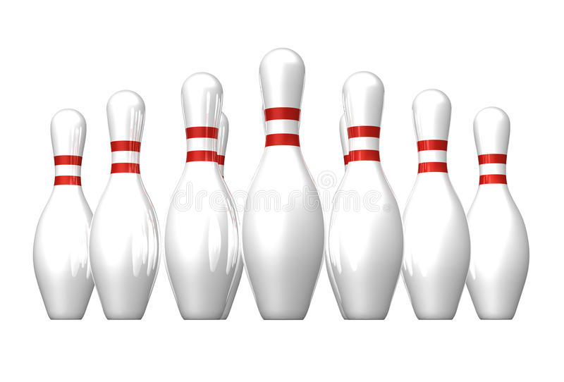 Download Bowling stock illustration. Image of roll, competition - 21138679
