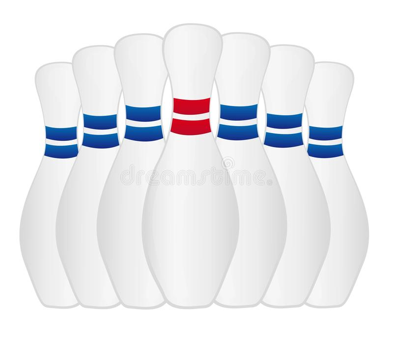 Download Bowling stock vector. Image of standing, illustration - 21443295