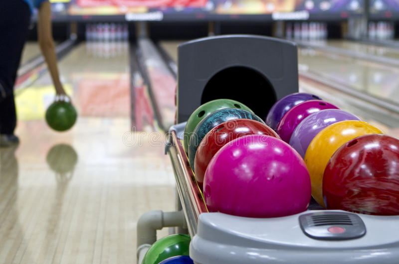 Bowling photo stock